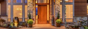 Houston Rustic Exterior Doors