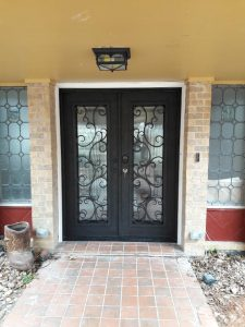 Houston exterior double door