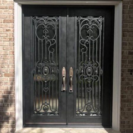 Entry Iron Doors