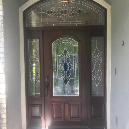 custom fiberglass front door houston tx