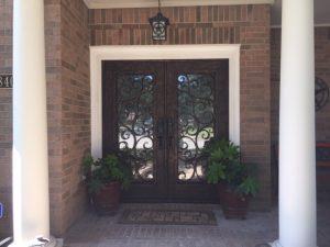 Custom Iron Door