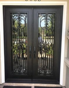 Entry Iron Doors