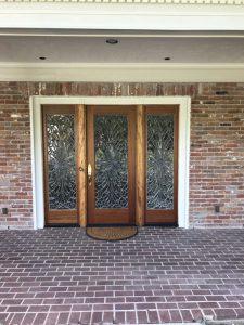 Custom Wrought Iron Doors Houston