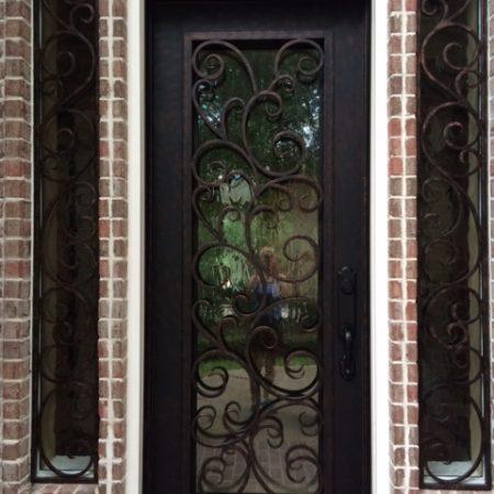 PRO SERIES 8' tall iron doors