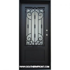 Houstonian Iron door