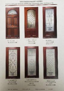 Mahogany Front Doors