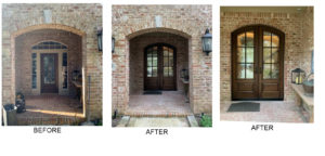 Increase your home's curb appeal with a new door from Southern Front!