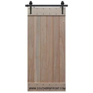 Knotty Alder Barn Door