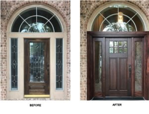 Houston Texas Front Entry Door