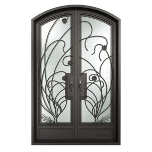 PRO SERIES 8' tall iron doors